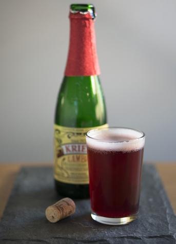 Bistro Menil lambic beer
