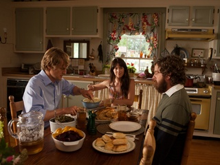 Owen Wilson, Laura Ramsey and Zach Galifianakis in Are You Here