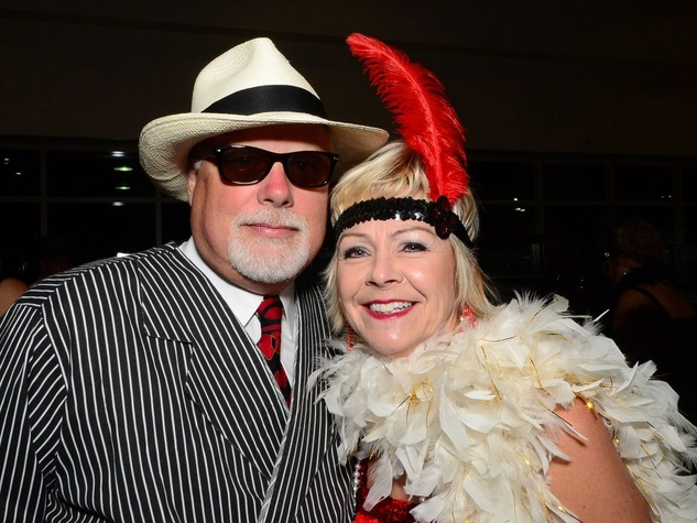 68 Dave and Kristi Holcomb at the Fellas and Flappers Sunshine Kids event October 2013