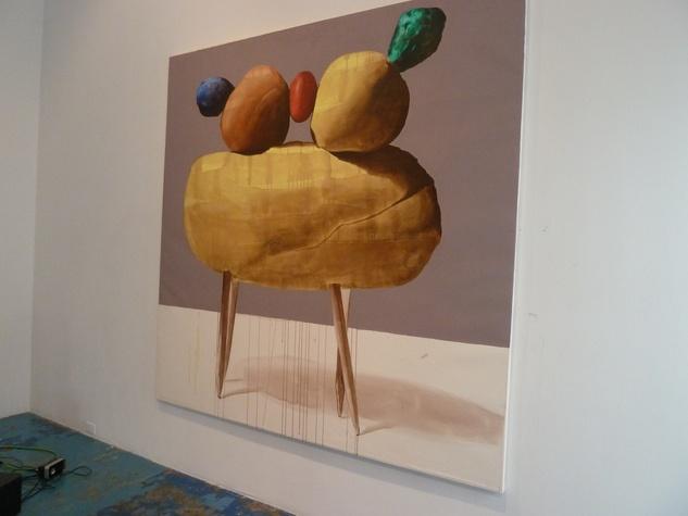 """""""Danza"""" By CentralTrak visiting-artist Michel """"El Pollo"""" Perez from Cuba"""
