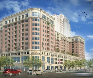 Renderings of Palazzi development at Uptown Park July 2014