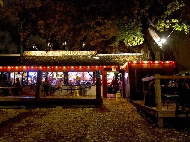 Crown & Anchor Austin bar