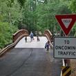 Lake Houston Wilderness Park Peach Creek bridge hike hiking