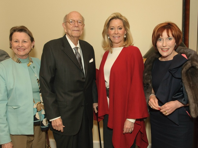 Leah Fullinwider, Jerry Fullinwider, Sarah Perot, Lady Josephine Bonfield, Voices of Hope Dinner
