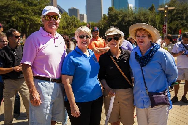 News, Shelby, Buffalo Bayou Park opening, Oct. 2015, David Heaney, Mayor Annise Parker, Ann Lents, Margaret Wolfe