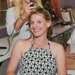 10 Stacy Lord, left, and Becky Fenn at the Brush & Blush Blow Dry Bar party June 2014
