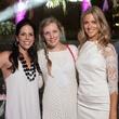 Laura Reeder, Kristen Johnson, Lauren Mason, white party