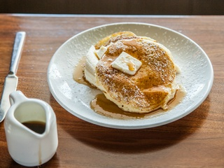 Goodall's Kitchen & Bar Austin restaurant Hotel Ella pancakes 2015