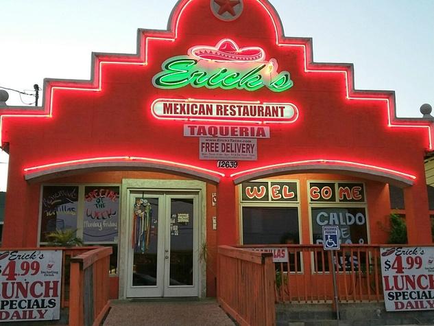 Erick's Tacos sit-down restaurant.