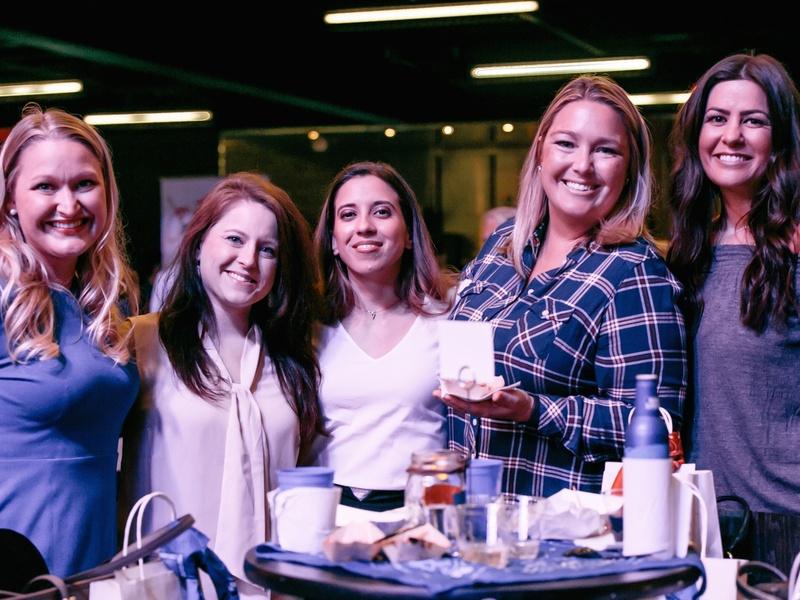 Camp for All Culinary Challenge Ellen Pennington, Meagan Messer, Nicole Till, Nikki Mitchell, and Erin Marzouki