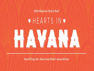 "2016 ""HEARTS IN HAVANA"" HEART BALL"