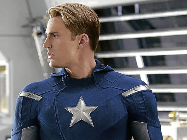News_The Avengers_Chris Evans as Captain America