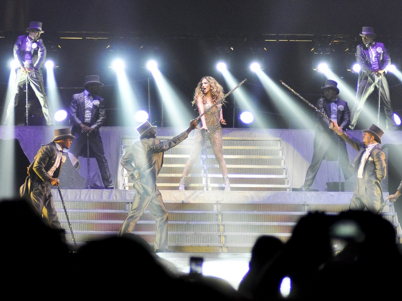 Jennifer Lopez, Enrique Iglesias concert, photo essay, August 2012