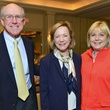 Barclay Armstrong, from left, Sarita Hixon and Laura Easton at the Hospice Butterfly luncheon April 2014