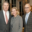 Rod Jones, Nancy Perot, and I Play for Parkland co-chair Carlos Peña, I play for parkland