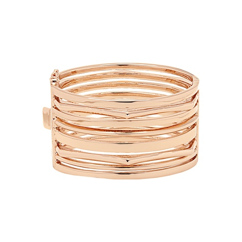 InStyle NineWest rose gold metal statement cuff