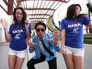 NASA, Gangnam style, parody, video, December 2012