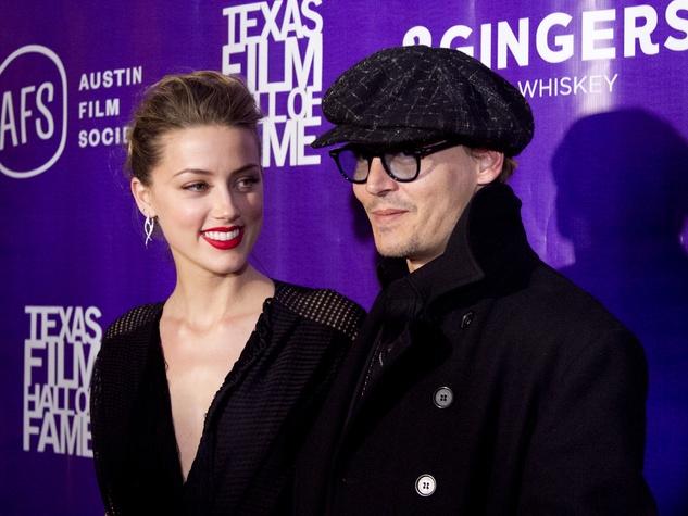 Austin Film Society Awards Amber Heard Johnny Depp