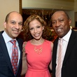 48 Beto Cardenas, from left, Norma Bustamante and Sylvester Turner at the Houston Food Bank dinner April 2014