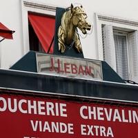 France horse butcher sign