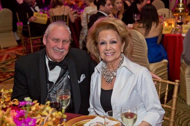 HCC Foundation gala 4/16, Arthur Baird, Philamena Baird