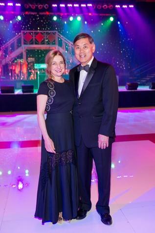 Memorial Hermann Gala 5/16 Donna Moylan, Dr. Benjamin Chu