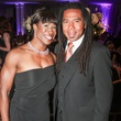 Lauren Anderson, Reginald Adams at Houston Arts Alliance performance by Audra McDonald