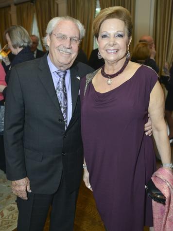 0008, Woodrow Wilson Awards dinner, March 2013, Arthur Baird, Philamena Baird