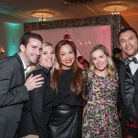 Houston, Social Book 2016 Launch Party, January 2016, David Weaver, Karina Loken, Kristina Nguyen, Sara St Marceaux, Chris Nicolaou
