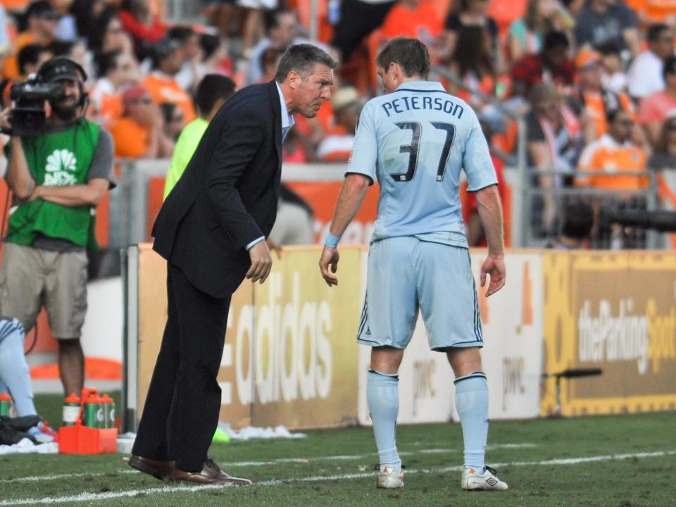 Dynamo Sporting KC coach