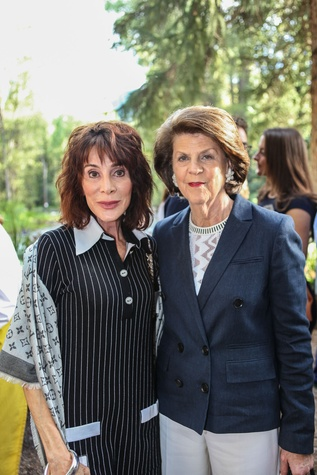 News, Shelby, M.D.Anderson in Aspen, July 2015, Annette Klein and Judy Margolis