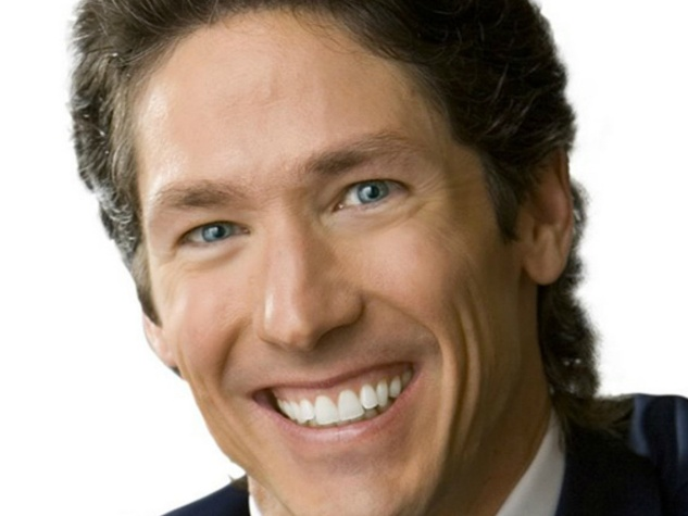 Joel Osteen smiling with white background head shot