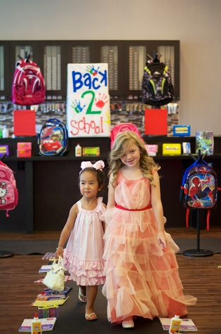 News, Shelby, Crimestoppers Kids Fashion Show, August 2014, Ava Le and Bella