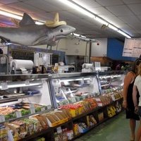 Austin Photo: Places_Food_quality_seafood_market_interior