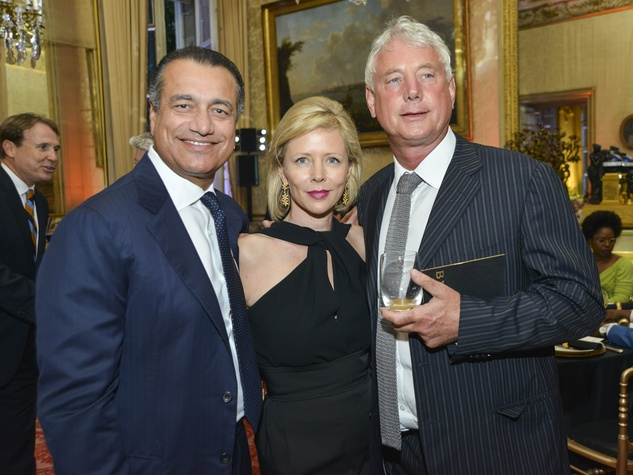 18 Luxembourg Palace dinner June 2013 Vipen Sareen, Rebecca Mitchell Carcelle, Tony Van Hagen