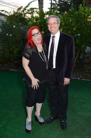 Thedra and Stephen Cullar-Ledford at the Aurora Picture Show Awards dinner October 2014