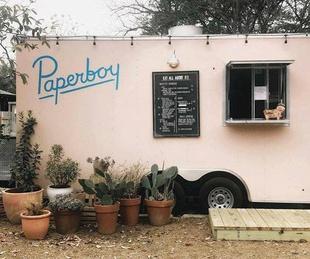 Paperboy Austin food truck
