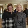 Elizabeth Brueggeman, left, and Janice Barrow at the Huffington Center on Aging luncheon October 2014