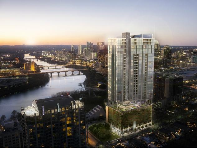Seventy Rainey high-rise Austin