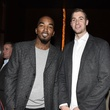 12 J.R. Smith, left, and Travis Wear at the opening of Mastro's Steakhouse in NYC November 2014