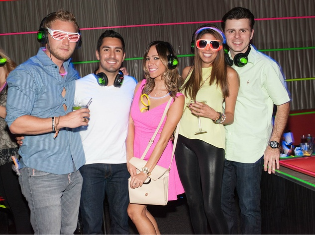 1.Hunter Heres, Alex Flores, Julie Ellis, Laura Ailshire, Bruno Dujmovic, YFWC Silent Disco