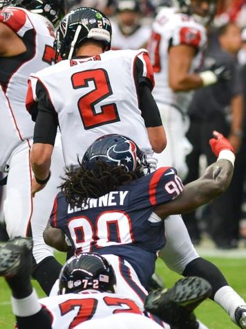 Clowney Texans Falcons sack