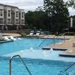 Houston, Vargos on the Lake, May 2015, swimming pool