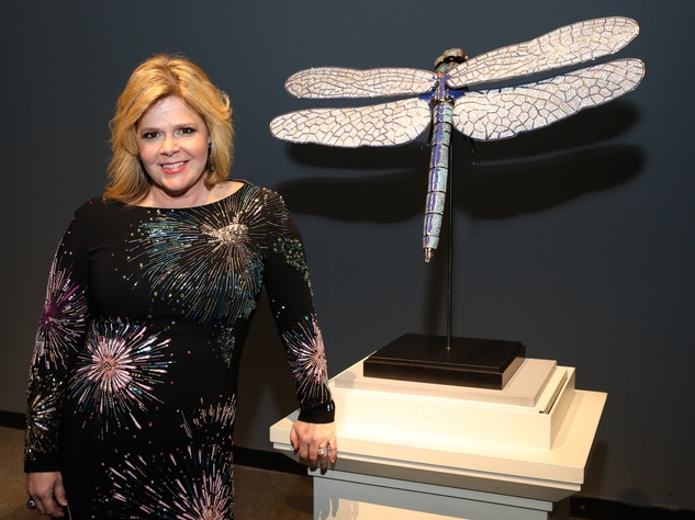 Houston, HMNS Big Bang Ball, March 2017, Kelli Weinzierl and Dragonfly designed by Matt Laurenza