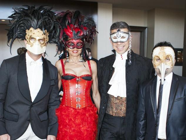 Gary Tigges, Veronika Nicholson, Lee Borchert, Cyrus Hadjesmaili at House of DIFFA 2014