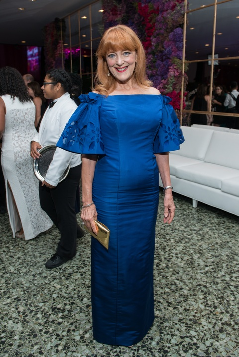 Gracie Cavnar in Oscar de la Renta at MFAH Grand Gala Ball 2017