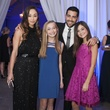 Cara Santana, Jesse Metcalfe and fans at Hollywood Domino Dallas 2014