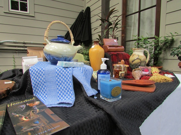 On the Market 2603 Hopkins September 2014 crafts from Homestead Traditional Crafts Village
