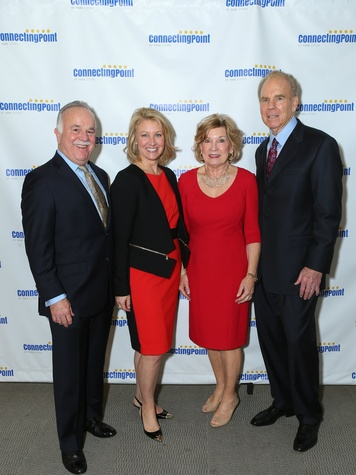 Rick Mills, Hollee Mills, Marianne Stabach, Roger Staubach, CPPC Luncheon