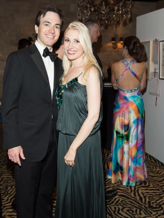 Art League Houston gala, October 2012, Danny David, Isabel David